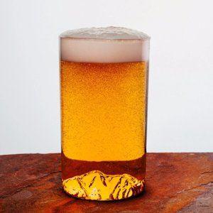 North Drinkware Pint Glass Colorado Maroon Bells
